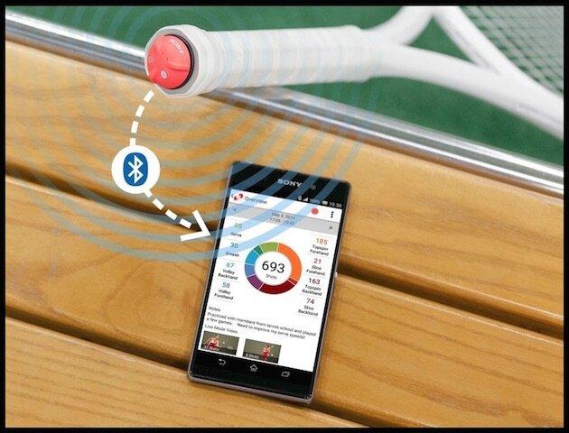 sony smart tennis sensor 1