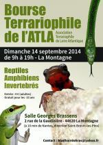 Affiche bourse terrariophile de l'ATLA