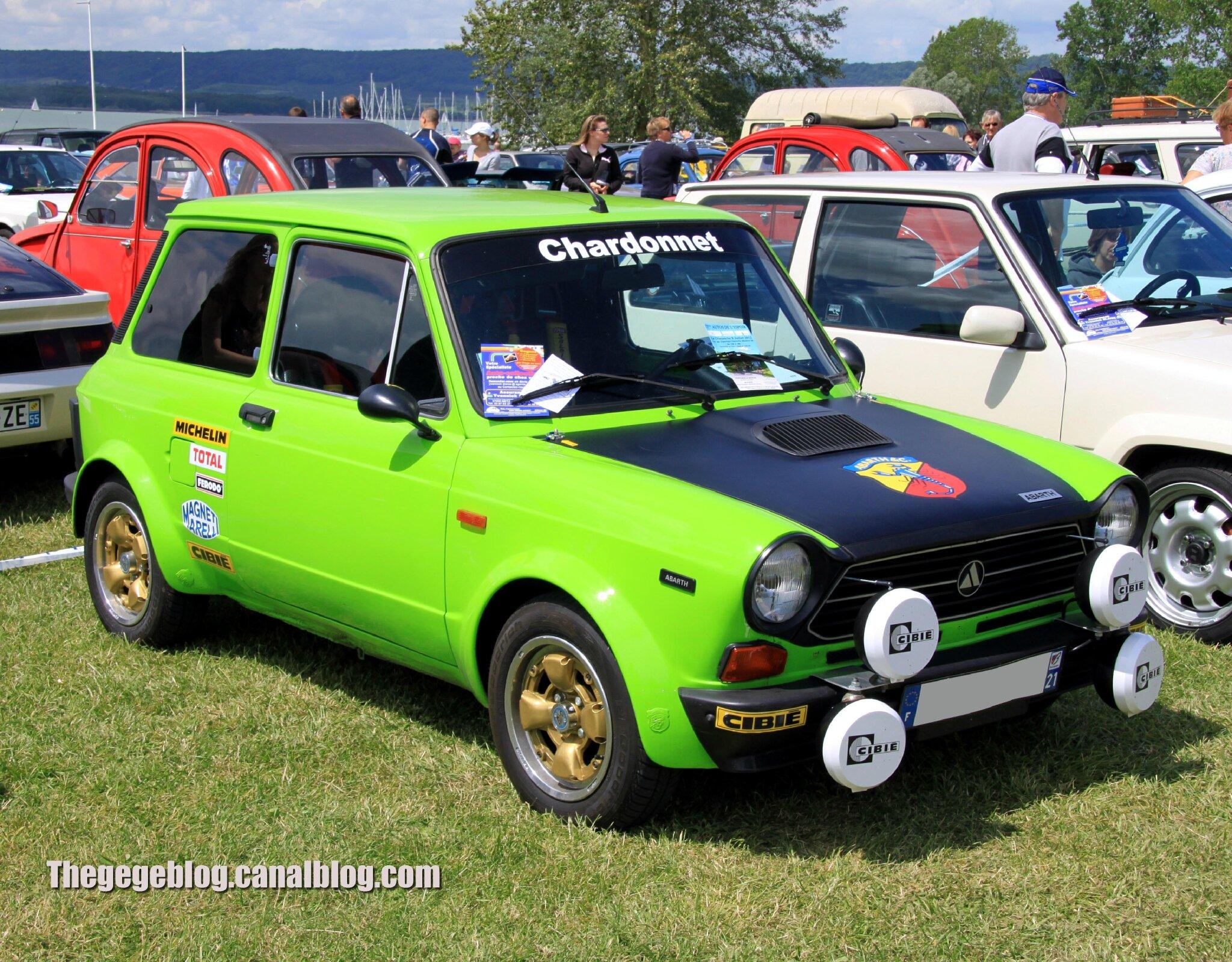 Autobianchi A112 de 1982 (Retro Meus Auto Madine 2012) 01