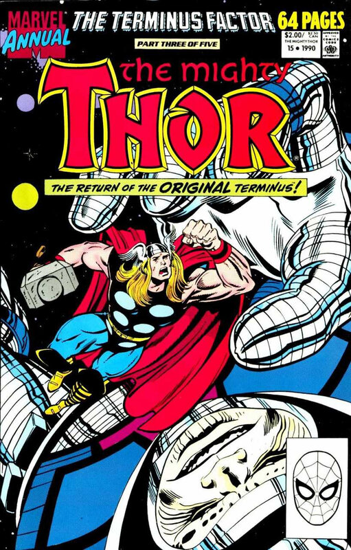 mighty thor 1966 annual 15 1990 terminus factor 3