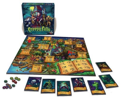 Boutique jeux de société - Pontivy - morbihan - ludis factory - Creepy Falls