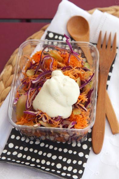 coleslaw sauce ricotta 001 LE MIAM MIAM BLOG