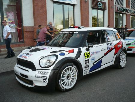 MINI John Cooper Works n°55 Rallye de France-Alsace Illkirch (1)