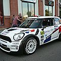 Mini john cooper works n°55 rallye de france-alsace