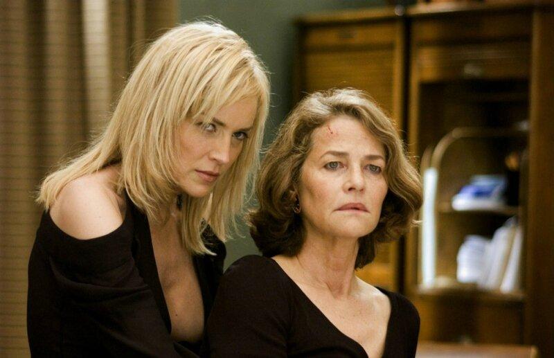 Sharon Stone et Charlotte Rampling dans le rôle de Milena Gardosh