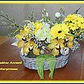 Art floral Pâques 2015 Loudéac Accueil Maryvonne