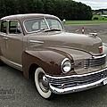 Nash ambassador super fastback sedan-1948