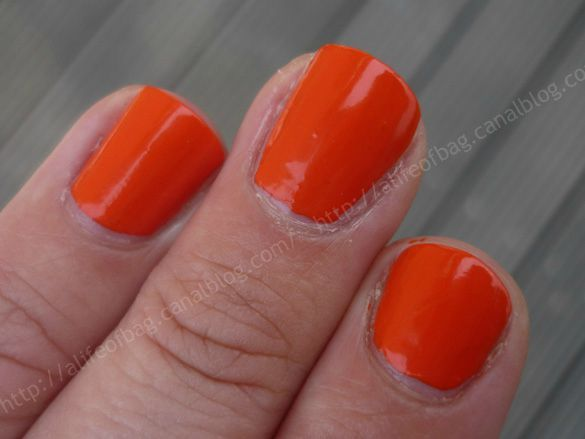 3 doigts bourjois orange creation 01