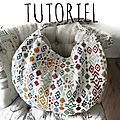 Nouveau tutoriel de sac: le sac biarritz