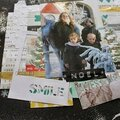 Scrapbooking page : smile