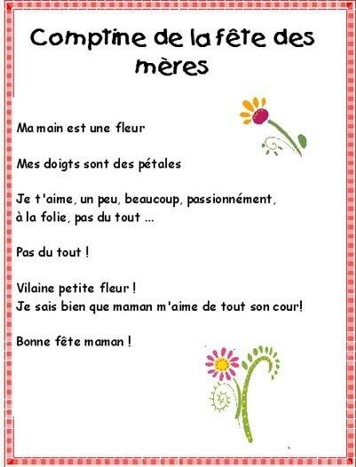 Comptines Fête Des Mères Assistante Maternelle Argenteuil Orgemont