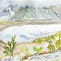 Aquarelle en alaska #3