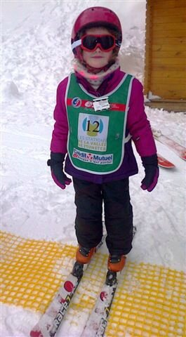 Une princesse au ski ©Kid Friendly