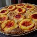 Tarte amandine aux fruits d'été (pêches, abricots ou nectarines)