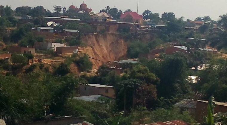 Erosion-à-Kananga