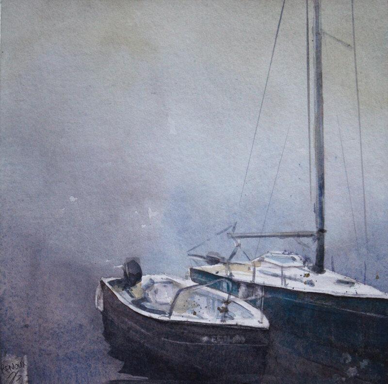 bateaux_brume_aquarelle_vanessaRenouxPC2018