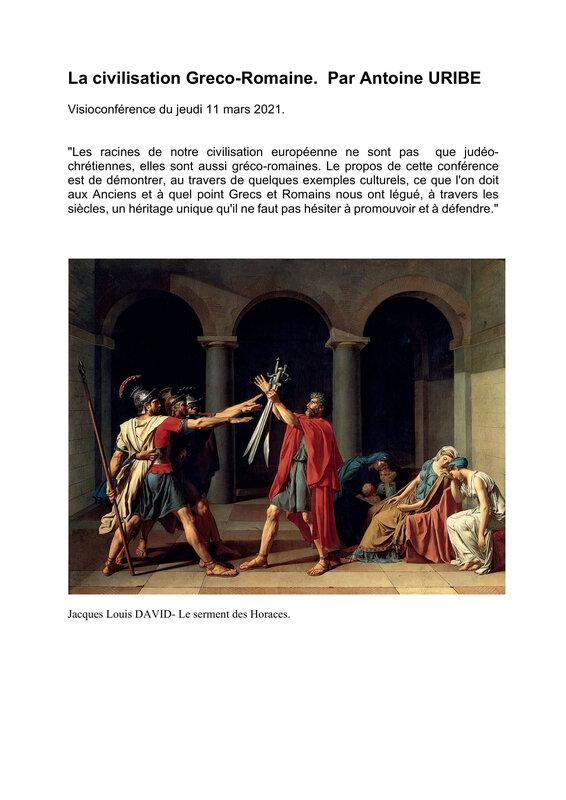 La civilisation Greco romaine par A Uribe-1