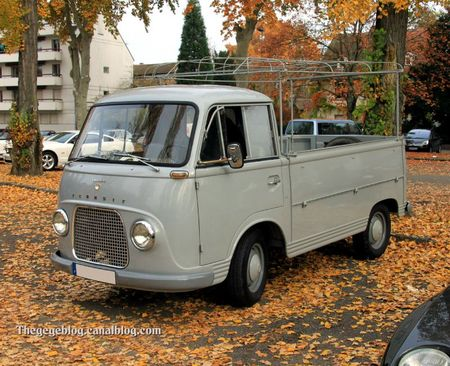 Ford taunus transit pick-up de 1965 (Retrorencard novembre 2011) 01