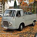 Le ford taunus transit pick-up de 1965 (retrorencard novembre 2011)