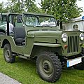 WILLYS Jeep CJ-3B Bad Teinach - Schmieh (1)