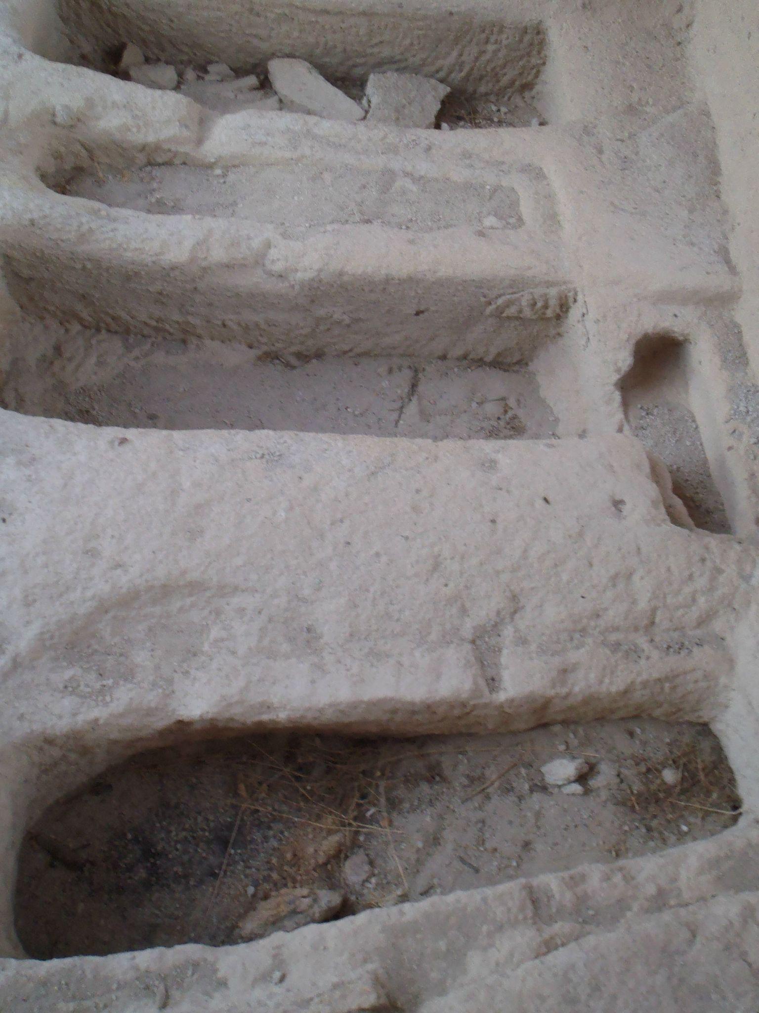turquie : cappadoce la balcane : ossuaires