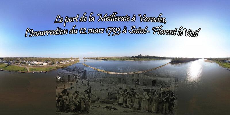 Le port de la Meilleraie à Varades, l'Insurrection du 12 mars 1793 à Saint- Florent-le-Vieil