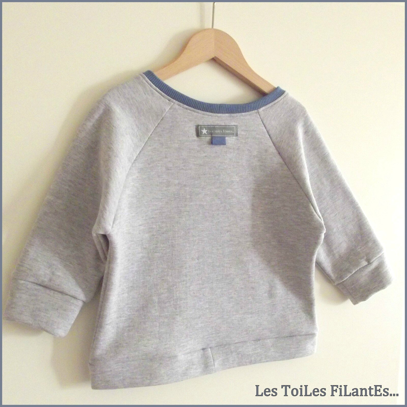 19-Ensemble jean sweat et tee-shirt bleu gris Aur�le13