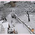 La petite maison dans le 42 est sous la neige