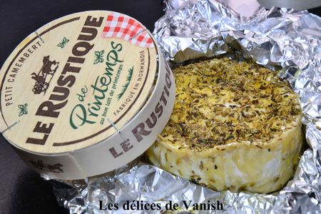 camembert braisé - camembert au four - huile d'olive