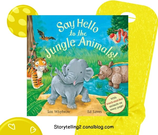 Say hello to the jungle animals, séquence Hello / Goodbye, cycle 2