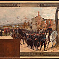 Dupray et Gilbert la défense extérieure 1889