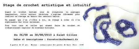 flyer stage crochet intuitif