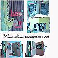 Mini album lovisa best of été 2011