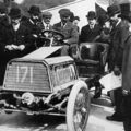 1903 paris-madrid - henri béconnais (darracq 40hp) dnf