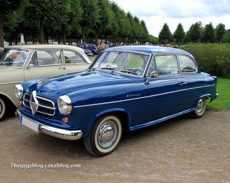 Borgward hansa 1500 Isabella de luxe 2-door (1949-1954)(9ème Classic Gala de Schwetzingen 2011) 01