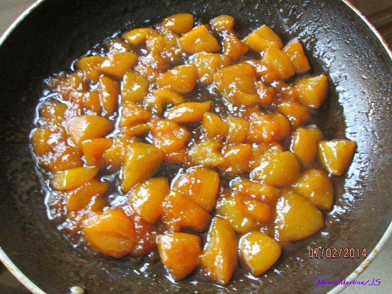 Cake aux abricots4