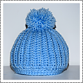 Tutoriel bonnet côtes crochet #by thisa