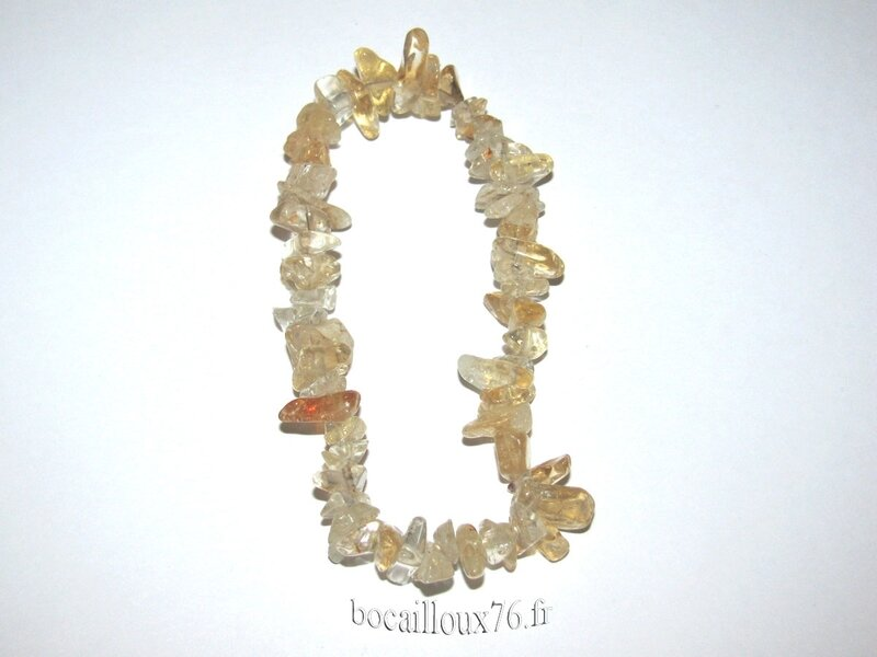 Bracelet CITRINE 1 Chips (4)
