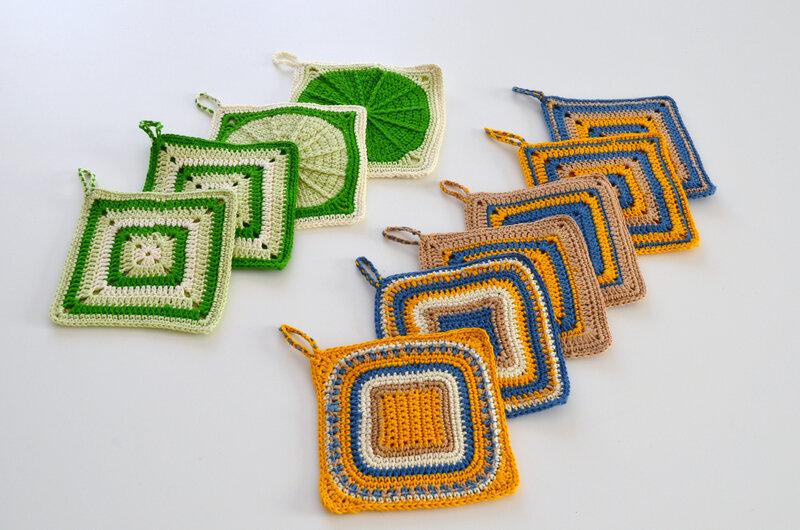 Maniques de cuisine au crochet-granny-La chouette bricole (11)