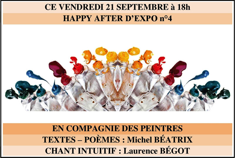 HAPPY AFTER D'EXPO N°4 EN CIE DES PEINTRES