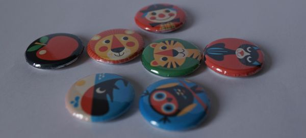 Badges assiettes
