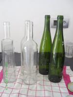 Quelques bouteilles de récup stérilisées...