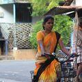 Cycliste parmi d'autres