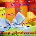 Swap anniversaire