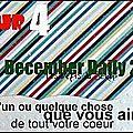 December daily actes 4,5 et 6