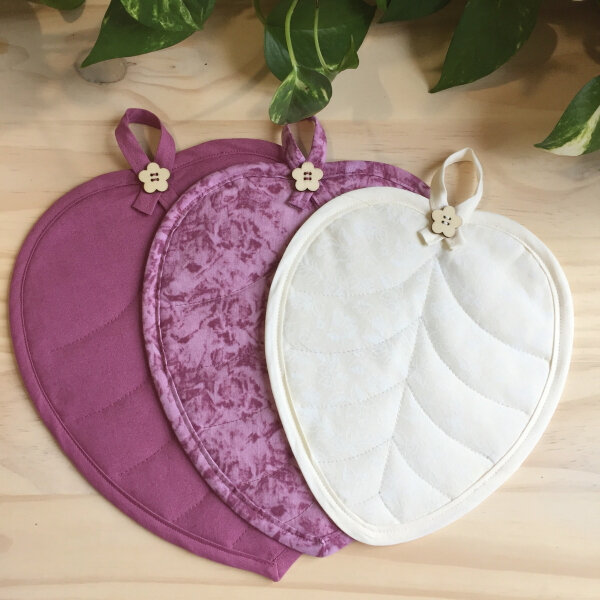 Les petits sets de table - Mug Rugs Violet Rose