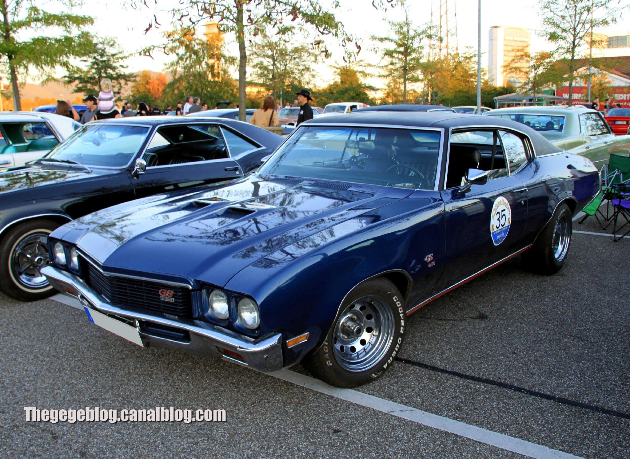 Buick GS 455 hardtop coupe de 1971 (Rencard Burger King septembre 2012) 01