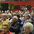 Un nombreux public est venu écouter Pierre Brasme, président fondateur honoraire de la Société d'Histoire de Woippy