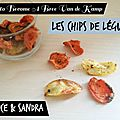 How to become a bree van de kamp : les chips de légumes