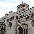 La cathédrale san vigilio de trente, l'extérieur